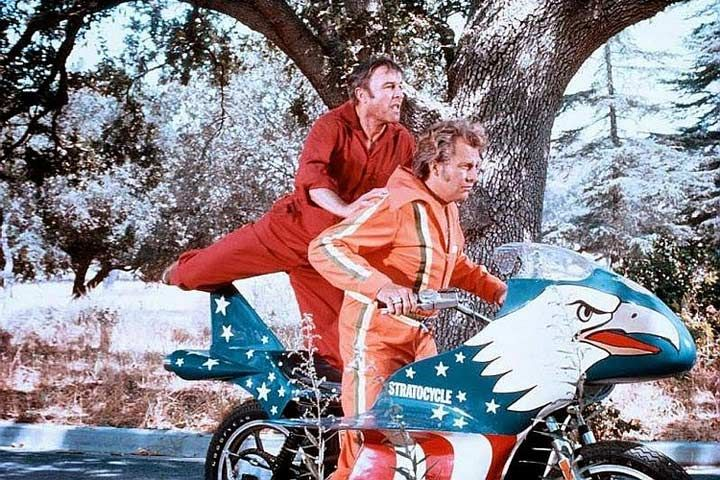 """Evel Knievel Harley Davidson Xl1000: Evel Knievel """"Stratocycle"""" Up For Auction"""