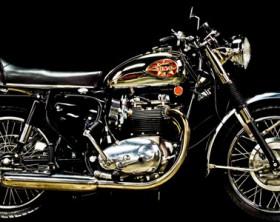 custom 1970 BSA A65