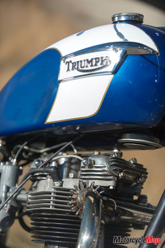 1971 Triumph TR6R Tiger Motorcycle Review