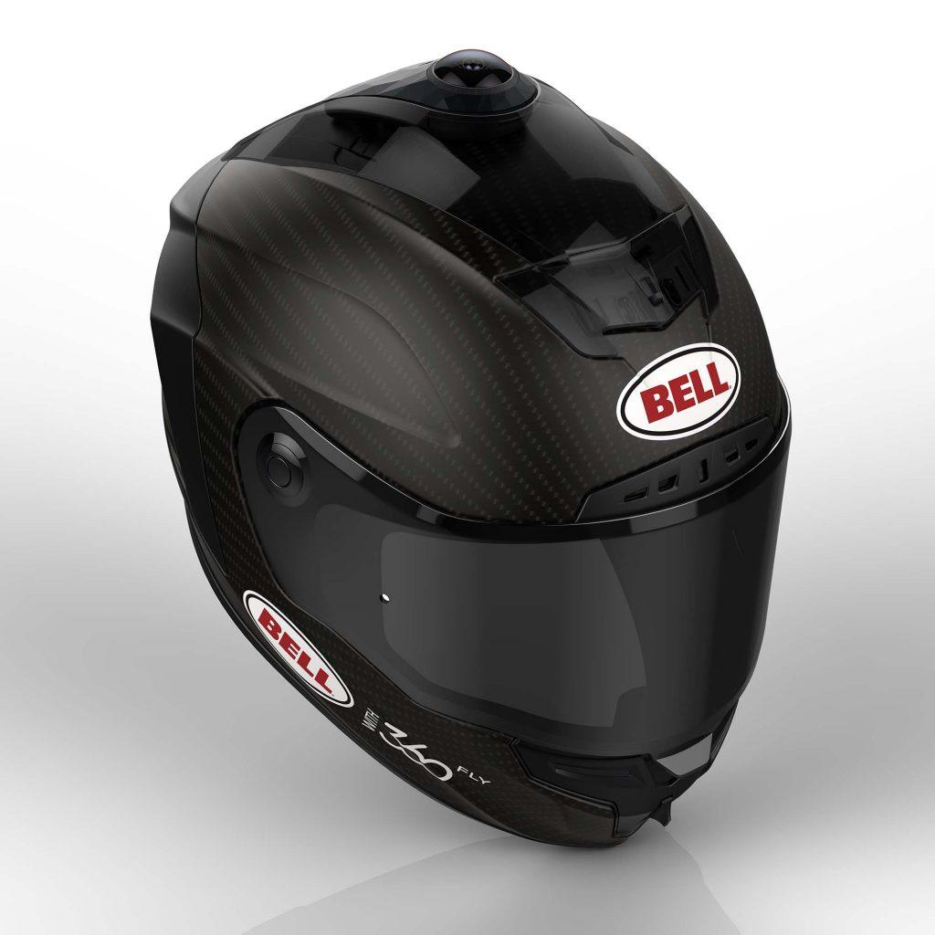 Motorcycle Helmet Integrated Camera