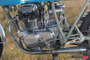 Engine of 1974 honda cb360