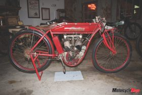 Indian brd track racer