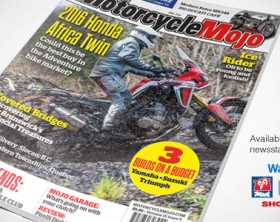 Motorcycle Mojo June 2016 Cover