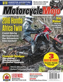 Motorcycle Mojo June 2016 Issue Cover
