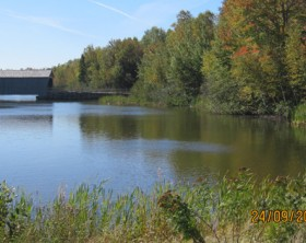New Brunswick covered bridge