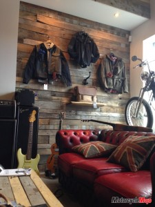 A hangout space in the _Lifestyle & Motorcycle Boutique_ at International Motorsports