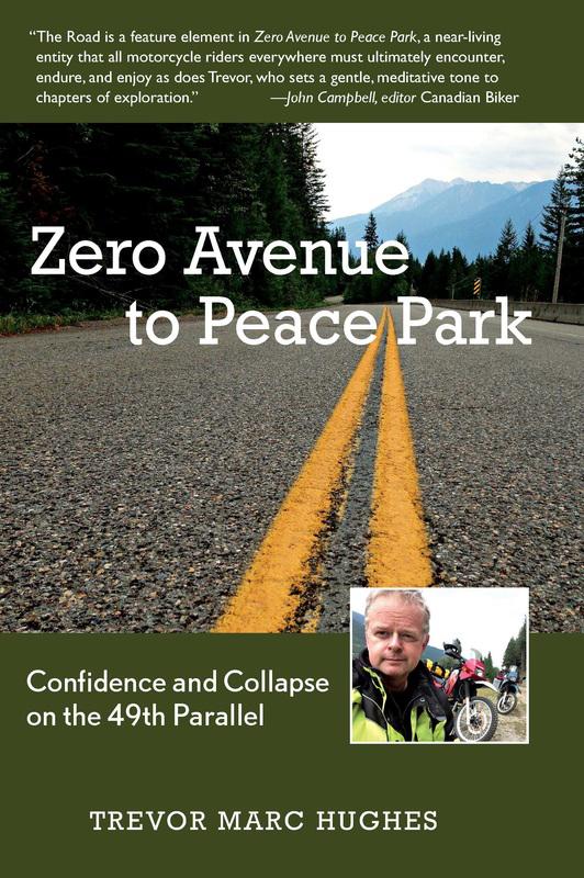 zero avenue to peace park book cover