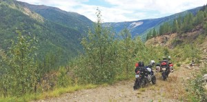 Motorcycle Riding in Alaska