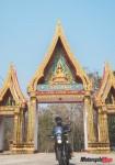 impressive temple gate