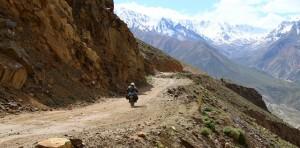 Motorcycle travel Tajikistan