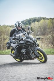 ride of 2017 Yamaha FZ-10
