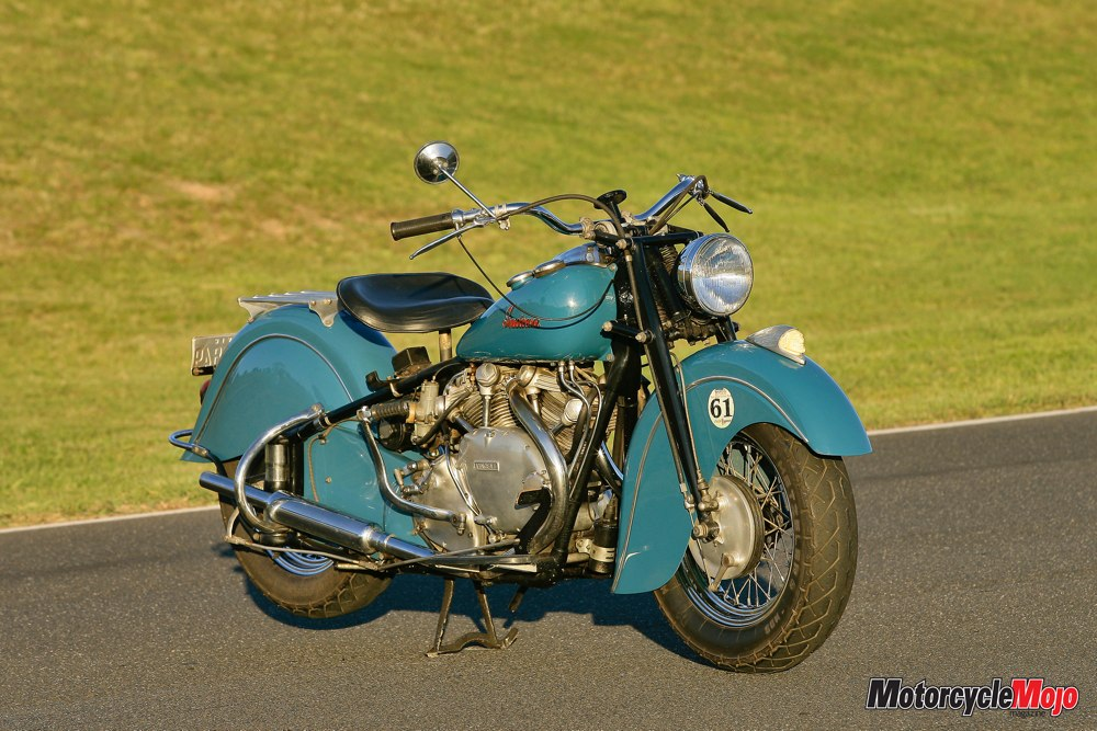 Unobtainium Vincent Indian Collaboration Featured Motorcycle