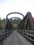 24 The Tulameen River Bridge near Princeton