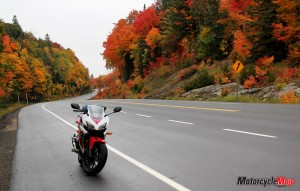 Algonquin motorcycle riding