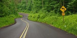 Pennsylvania winding road