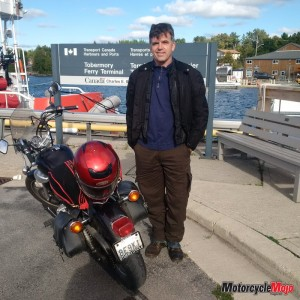 Ferry motorcycle Manitoulin Island