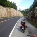 Road through rocks