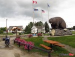 Peace River Beaver statue