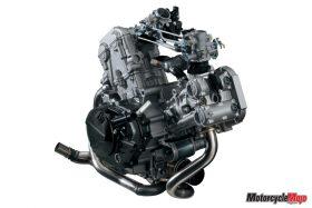 engine of Suzuki SV650