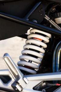 suspension of 2017 BMW G310R