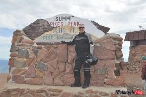 Summit Pikes Peak
