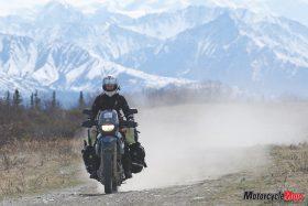 Alaska Glenn Highway Near Anchorage