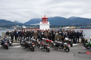 Group Photo at The Distinguished Gentleman's Ride