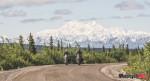 Denali Highway and Mount Denali Lisa and Jason