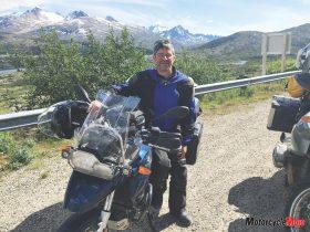 Riding in Northern British Columbia