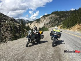 Riding on a Northern British Columbia Trail
