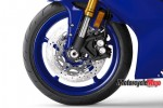 Front Wheel of The 2017 Yamaha R6