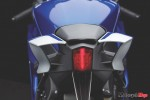 Tail Light of The 2017 Yamaha R6