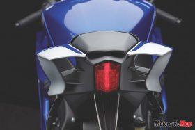 Tail Light of The 2017 Yamaha R6