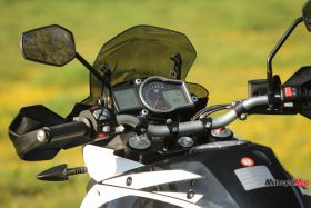 Speedometer of the 2017 KTM 1090 Adventure R