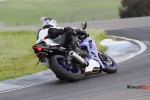 Racing on a 2017 Yamaha R6
