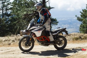 2017 KTM 1090 Adventure R Trail Riding