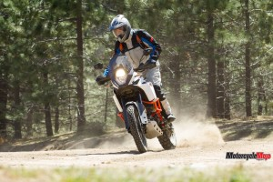 2017 KTM 1090 Adventure R Riding Off-Road