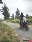Off-Road Riding on a Dirt Road