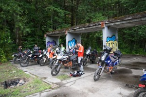 Off-Road Motorcycle Riding Begins