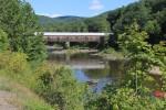 A Bridge Over a River in Vermont