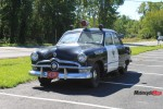 Police Car Waiting in Vermont