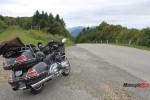 Motorcycle Riding in the Mountains of Vermont
