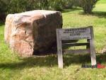 Buffalo Rubbing Stone
