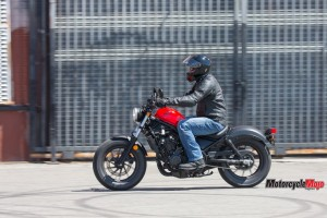 Honda Rebel Motorcycle Riding