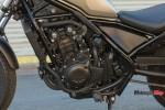 Engine of a Honda Rebel