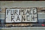 Fur Peace Ranch Sign