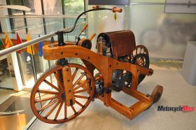 A Wooden Tricycle