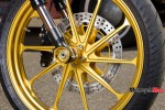 Front Wheel of Black Beauty