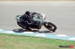 Riding a 750SS Brands Hatch in 1995