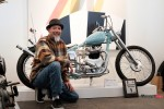 Paul Wong Key and His Custom Motorcycle